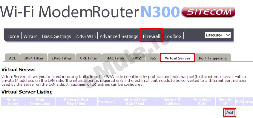 how to add host name to router