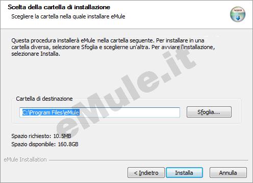 emule codice installazione